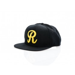 "Rotiform Snap-Back R | Black with Gold ""R"""