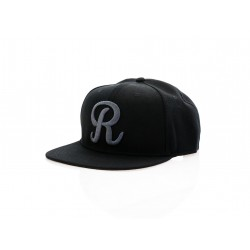 "Rotiform Snap-Back R | Black with Charcoal ""R"""