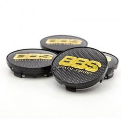 BBS Stredova krytka zlata carbon special edition s krouzkem