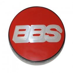 BBS Stredova krytka cervena stribrna NURBURGRING EDITION s krouzkem