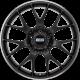 BBS CH-R CH100 20x9 5x120 ET24 satin black