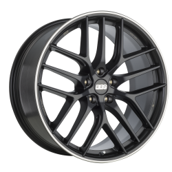 BBS CC-R CC0101 20x8 5x112 ET17 satinum black