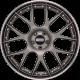 BBS CH-RII CH662 20x9 5x120 ET42 platinum black