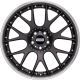 BBS CH-RII CH662 20x9 5x120 ET42 satin black titanium