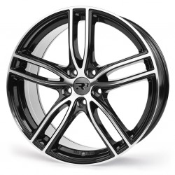 R3 Wheels R3H1 17x7,5 5x108 ET45 Black Polished