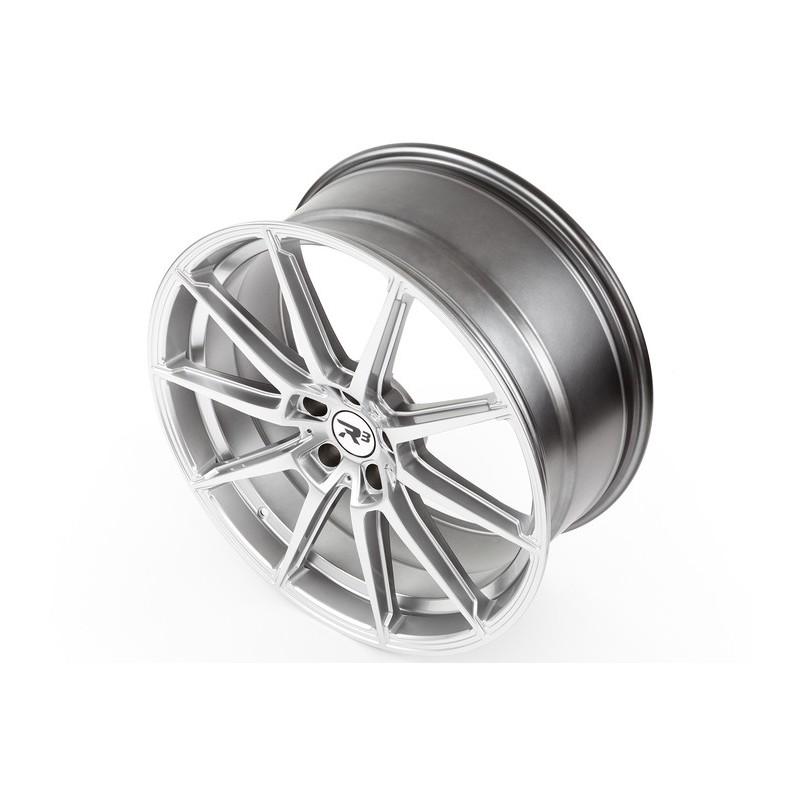 R3 Wheels R3h3 18x8 5x100 Et35 Hyper Silver Oemplus Eu