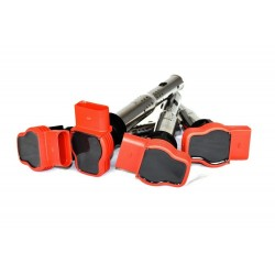 OEM Red 'R8' Ignition Coil Pack Set for 2.0TFSI / 2.0TSI
