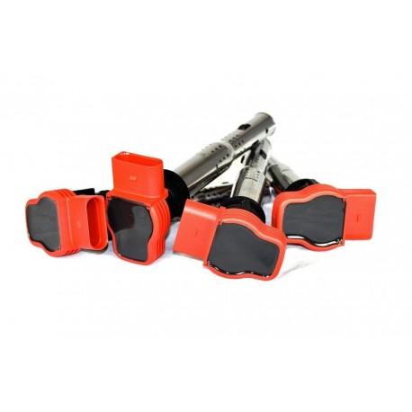OEM Red 'R8' Ignition Coil Pack Set for 2.0TFSI / 2.0TSI